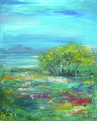Painting - Meadow Trees by Colleen Ranney