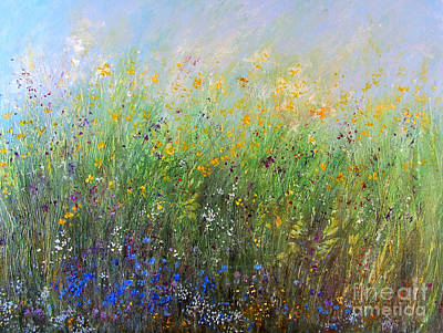 Painting - Meadow by Valerie Travers