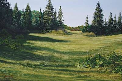 Painting - Meadow Walk by Alan Zawacki