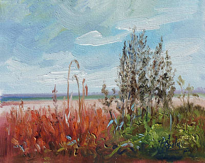 Meadow Painting - Meadow Weeds by Irek Szelag