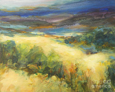 Painting - Meadowlands Of Gold by Glory Wood