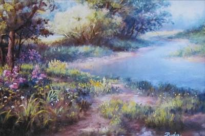 Meadowlight Art Print
