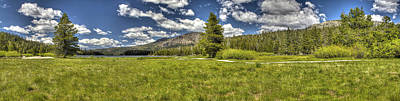 Photograph - Meadows Pano 2 by SC Heffner