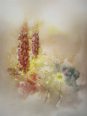 Painting - Meadowsweet by Valerie Anne Kelly