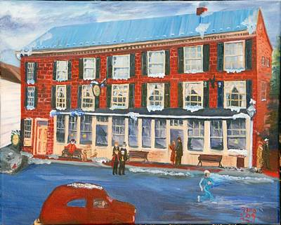 Mealeys Tavern Print by Gloria Condon