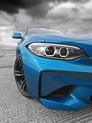 Photograph - Mean Mover Bmw M2 by Gill Billington