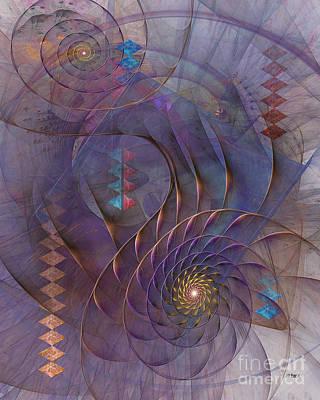 Meandering Acquiescence Art Print by John Robert Beck