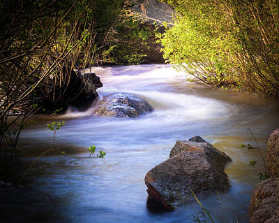 Photograph - Meandering Flow by Steven Reed