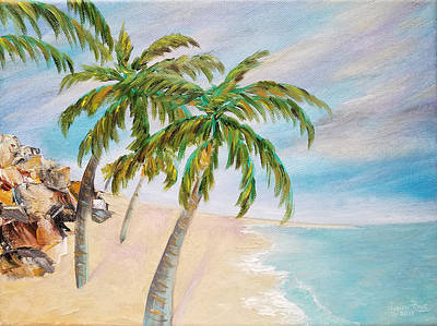 Painting - Meandering Palms by Judith Rhue