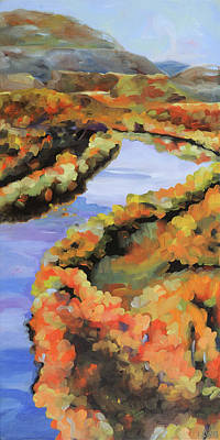 Meandering Shenandoah Art Print by Anne Lewis