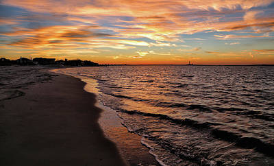 Photograph - Meandering Shoreline by John Loreaux