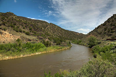 Photograph - Meandering Through New Mexico by Steve Gravano