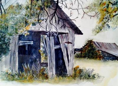 Painting - Meanwhile Back At The Ranch by Paula Day