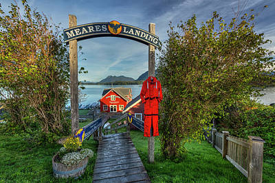 British Columbia Photograph - Meares Landing by Mark Kiver
