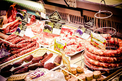 Photograph - Meat Market by Jason Smith