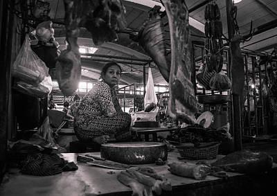 Photograph - Meat Market by Paki O'Meara