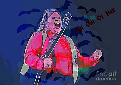 Aday Photograph - Meatloaf Digital Art by Pd