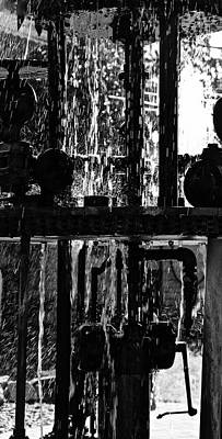 Photograph - Mechanical Fountain by Brian Sereda