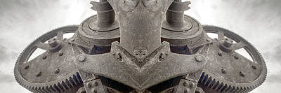 Photograph - Mechanical Mother Clockwork Growth One by John Williams