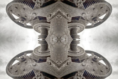 Photograph - Mechanical Mother Clockwork Growth Two by John Williams