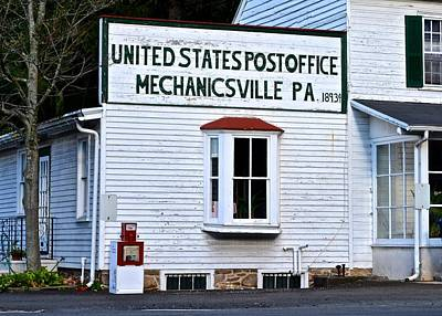 Photograph - Mechanicsville Post Office by Tana Reiff