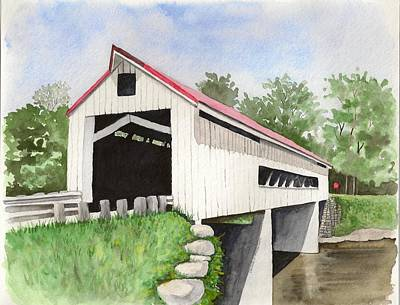 Mechanicsville Rd Bridge Art Print