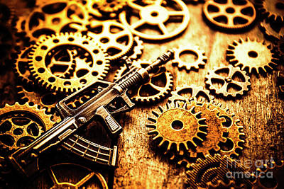 Counter Photograph - Mechanised Warfare by Jorgo Photography - Wall Art Gallery