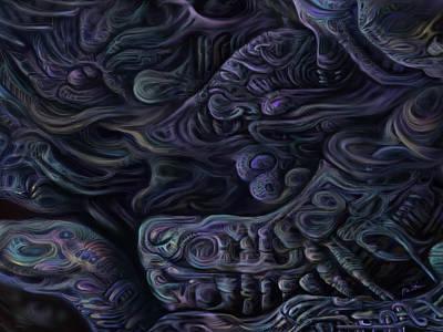 Horror Digital Art - Mechanized Society's Fatal Flaw V by Paul Shields