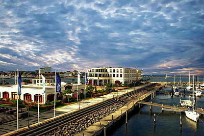 Photograph - Mecklenburg Harbor View by Anthony Dezenzio
