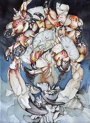 Bekman Wall Art - Painting - Medallion Series X by Liduine Bekman