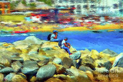 Painting - Medano Rocks by Gerhardt Isringhaus