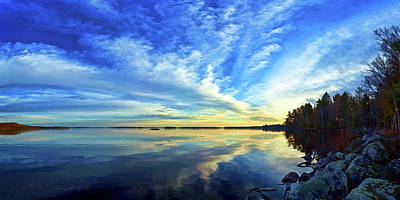 Downeast Maine Photograph - Meddybemps Reflections 1 by ABeautifulSky Photography by Bill Caldwell
