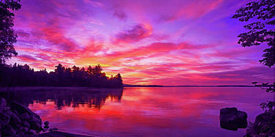 Photograph - Meddybemps Sunrise by ABeautifulSky Photography by Bill Caldwell