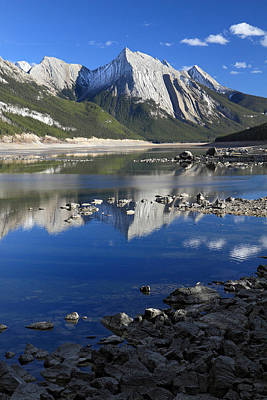 Medecine Lake Jasper National Park Alberta Canada Art Print by Pierre Leclerc Photography