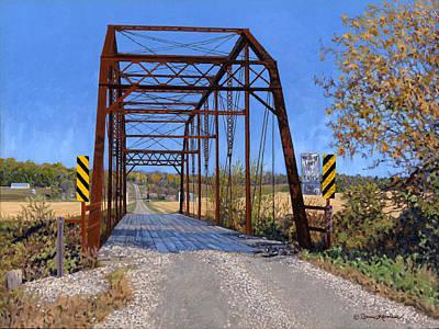 Painting - Medford Avenue Bridge by Bruce Morrison