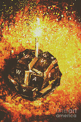 Bomb Photograph - Media Meltdown by Jorgo Photography - Wall Art Gallery