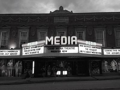Photograph - Media Theater by Polly Castor