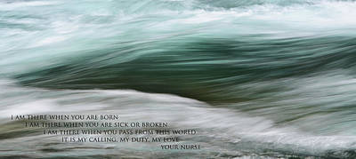 Photograph - Medical Poem 1 by Whispering Peaks Photography