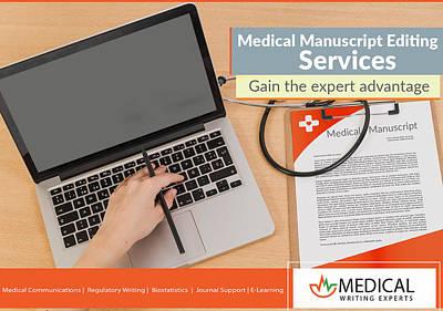 Manuscript Mixed Media - Medical Writing Experts - Manuscript Editing Service by Medical Writing Experts
