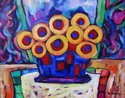 Painting - Medicinal Marigolds by Dianne Connolly