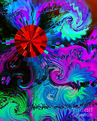 Digital Art - Medicine Dreams by Kristi Kruse
