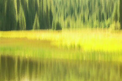 Photograph - Medicine Lake by Deborah Hughes