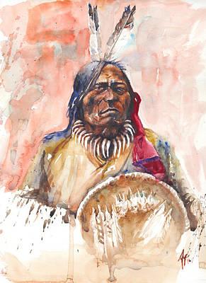 Painting - Medicine Man by Arthur Fix