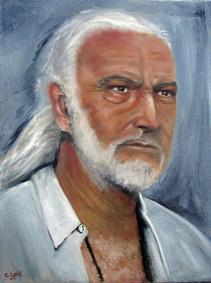 Painting - Medicine Man  by Catherine Link