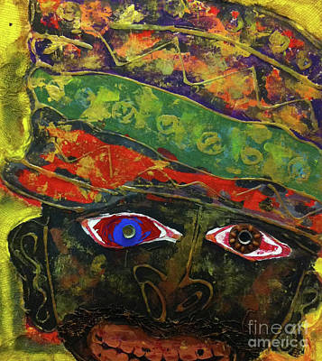 Painting - Medicine Man by Cleaster Cotton