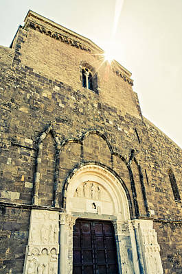 Photograph - Medieval Abbey - Fossacesia - Italy 5 by Andrea Mazzocchetti