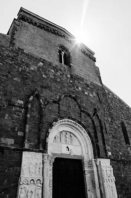Photograph - Medieval Abbey - Fossacesia - Italy  by Andrea Mazzocchetti