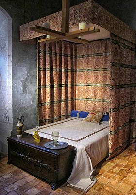 Bed Spread Photograph - Medieval Bed  by Dave Mills