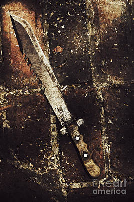 Ancestry Photograph - Medieval Blacksmith Sword by Jorgo Photography - Wall Art Gallery