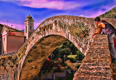 Photograph - Medieval Bridge by Allen Beatty